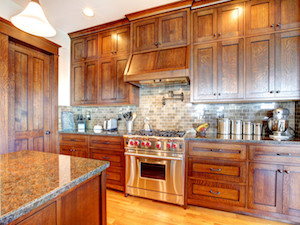 We can clean your kitchen just like this one, using our House Cleaning Services.